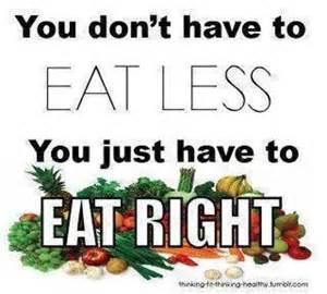 dont eat less